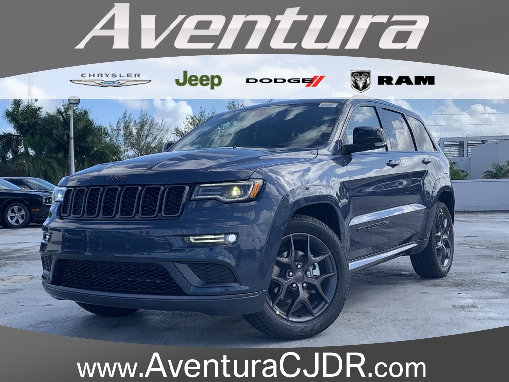 New 2020 JEEP Grand Cherokee Limited X