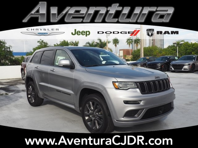 New 2018 Jeep Grand Cherokee Overland Sport Utility In North Miami
