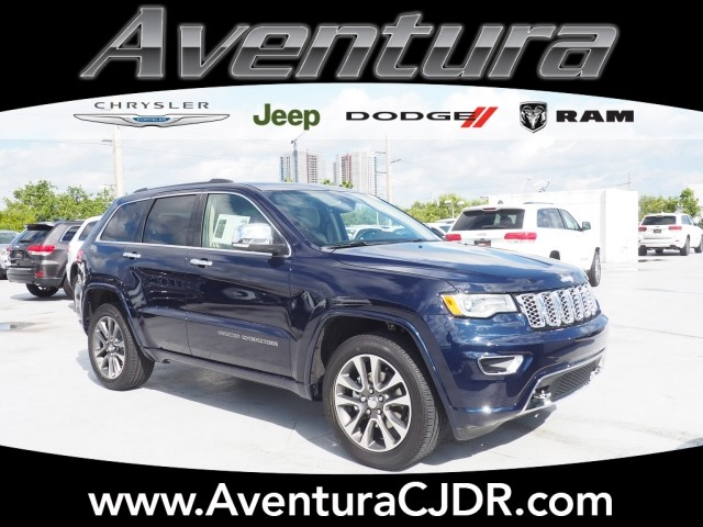 New 2018 JEEP Grand Cherokee Overland Sport Utility in North Miami ...