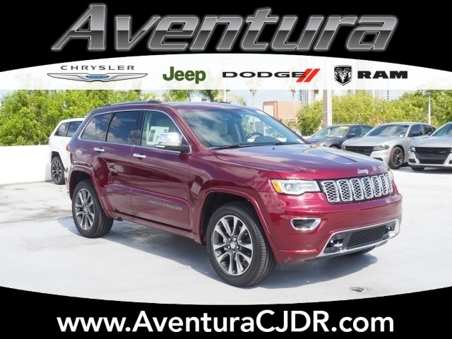 new 2018 jeep grand cherokee overland sport utility in north miami beach v8g209028 aventura. Black Bedroom Furniture Sets. Home Design Ideas