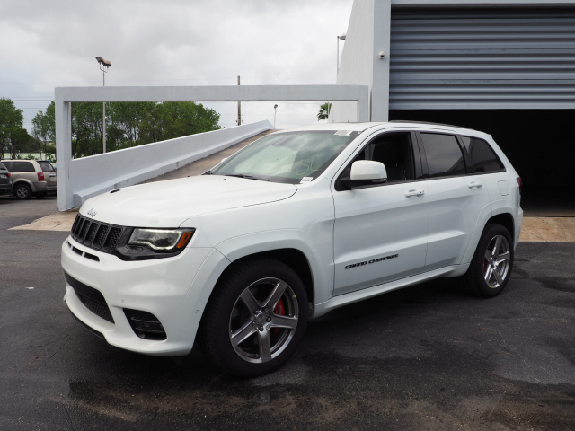 New 2017 Jeep Grand Cherokee Srt Sport Utility In North