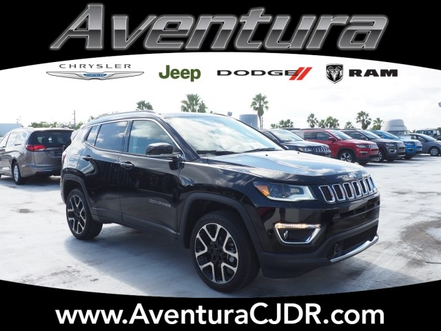 new 2018 jeep compass limited 4x4 limited 4dr suv in north miami beach v8a180835 aventura. Black Bedroom Furniture Sets. Home Design Ideas