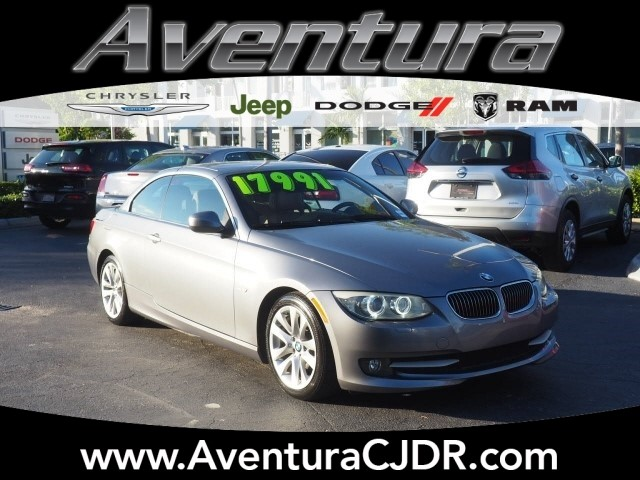 PreOwned BMW I I I Dr Convertible In North Miami - 2012 bmw 328i sport